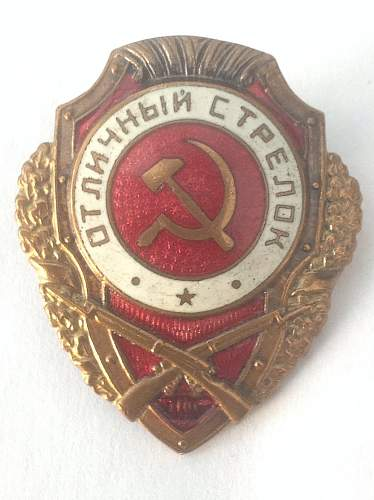 Click image for larger version.  Name:Excellent Riflemans badge.jpg Views:25 Size:77.5 KB ID:598945