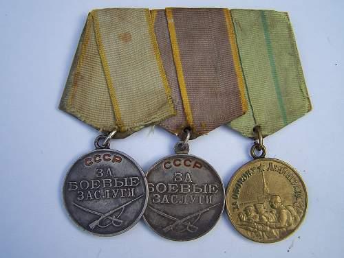 Click image for larger version.  Name:Soviet awards, Nov2013 018.jpg Views:123 Size:328.2 KB ID:600306