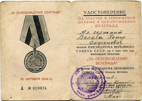 Click image for larger version.  Name:Liberation of Belgrade.jpg Views:49 Size:330.0 KB ID:609310
