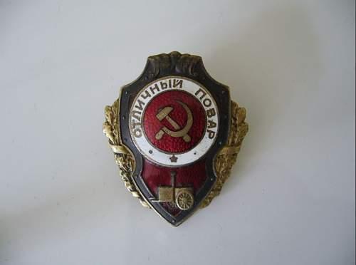 Excellent Cooks badge
