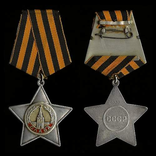 Order of Glory, 2nd Class, Nr. 14914