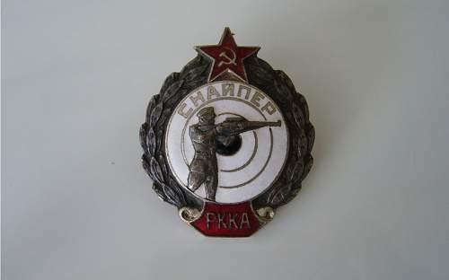 Sniper RKKA 1938 / 1941