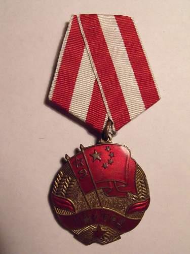 Sino-Soviet Order of Friendship