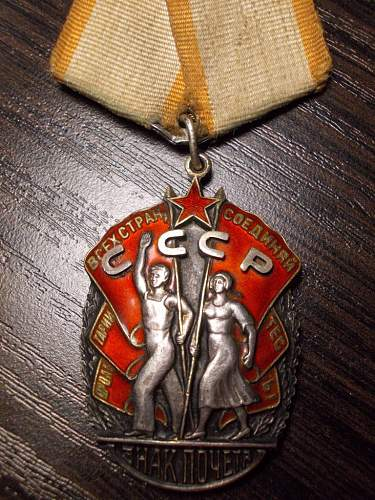 Order of the Badge of Honour   114343