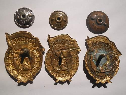 Guards badges..