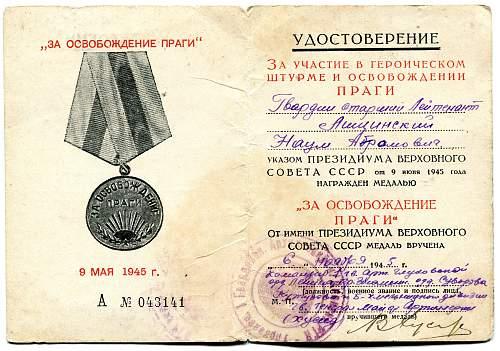Click image for larger version.  Name:Naum Aronovich Leschinsky Liberation of Prague.jpg Views:25 Size:335.1 KB ID:681875