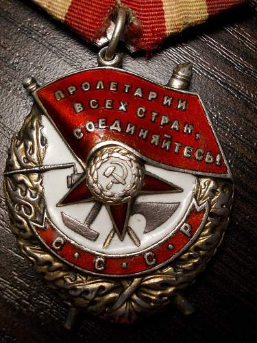 Order of red banner 188852