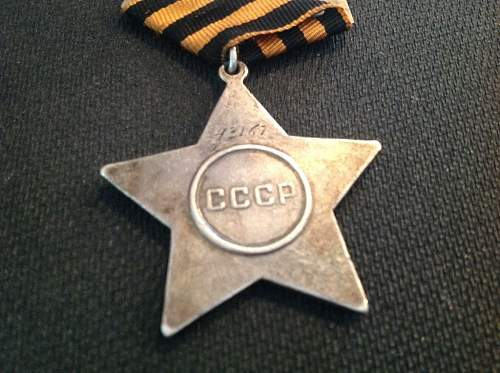 Order of Glory 2nd class