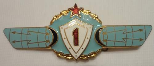 Badges of Signal proficiency
