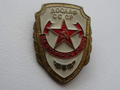 DOSAAF Badge.