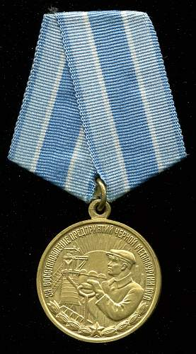 Click image for larger version.  Name:Vasiliy Moiseevich Didevich medal obverse.jpg Views:5 Size:307.1 KB ID:712788