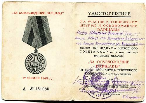 Click image for larger version.  Name:Vasiliy Georgievich Shishkin, Liberation of Warsaw.jpg Views:44 Size:333.9 KB ID:716925