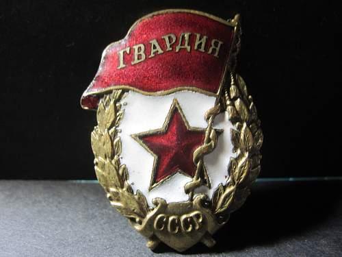 Guard Badge