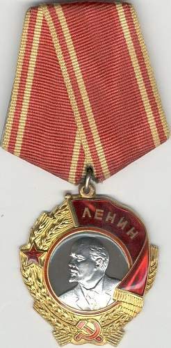 Orders of Lenin