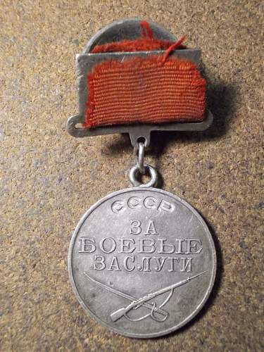 Medal for services in battle