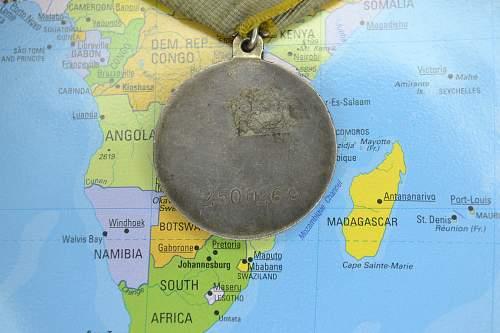 Medal for Battle Merit #2500269 - Researchable?