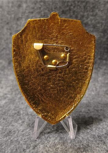 Soviet MVD Internal Army Sentry Post Commander Breast Badge 1978 - 1991