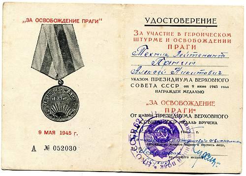 Click image for larger version.  Name:Aleksei Nikitovich Panin, Liberation of Prague.jpg Views:15 Size:331.5 KB ID:759077