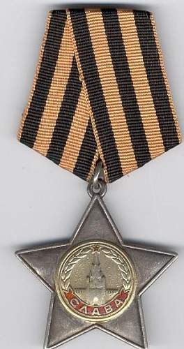 Order of Glory Second Class