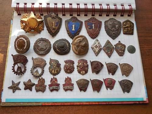 dug russian medals