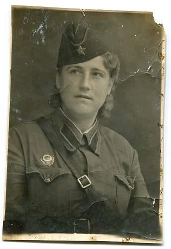 Tatyana Fedorovna Denisenko (Lilitskaya), Nurse