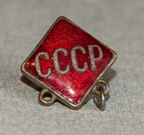 Info on a Sovjet badge from WW2