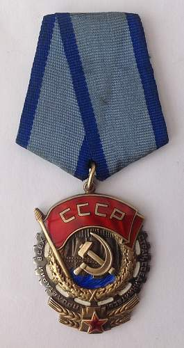 Order of the Red Banner of Labour, 767874