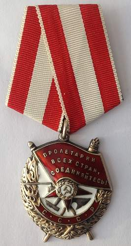 Click image for larger version.  Name:Order of the Red Banner.jpg Views:181 Size:191.7 KB ID:821096