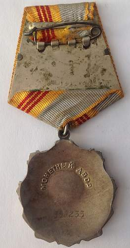 Click image for larger version.  Name:Order of Labour Glory reverse.jpg Views:13 Size:172.0 KB ID:822885