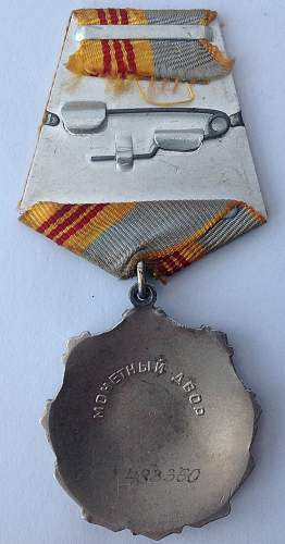 Order of Labour Glory, 3rd class, 483350