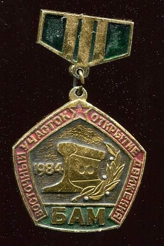Click image for larger version.  Name:Sergei Ivanovich Barskiy, Miroshnickenko Badge obverse.jpg Views:20 Size:215.8 KB ID:823172