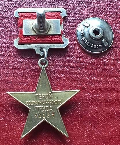 soviet Hero of socialist labor