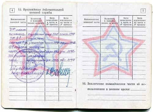 Private Vladimir Pavlovich Klykov, 318th Infantry Division