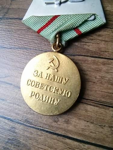 Defense of Stalingrad medal