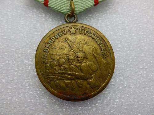 Click image for larger version.  Name:Medal Defence of Stalingrad.jpg Views:217 Size:157.8 KB ID:872160