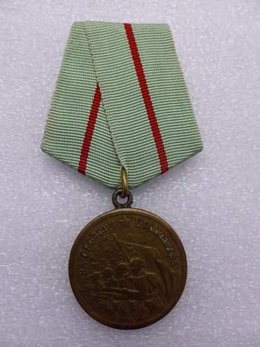 Click image for larger version.  Name:Medal Defence of Stalingrad 2.jpg Views:225 Size:185.3 KB ID:872161