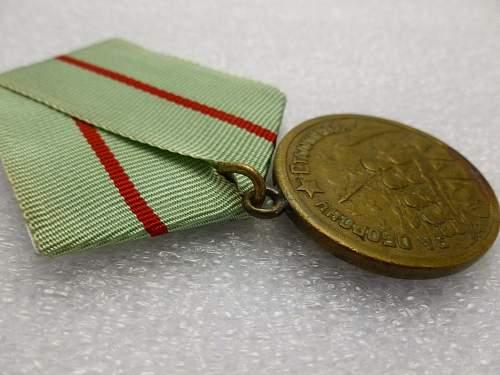 Click image for larger version.  Name:Medal Defence of Stalingrad 5.jpg Views:73 Size:155.2 KB ID:872164