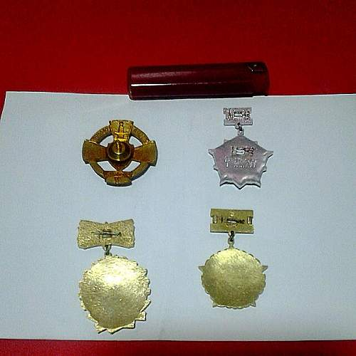 Click image for larger version.  Name:set_of_4_russia_prussia_europe_military_badges_pin_army_police_1433632780_5b5201be.jpg Views:52 Size:53.3 KB ID:882674