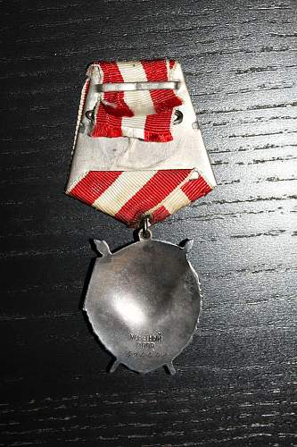 Order of the Red Banner, #494442