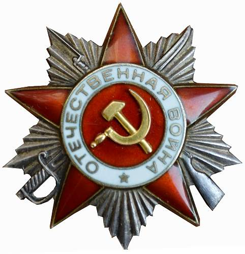 Order of the Patriotic War 2 class - new add to my collection