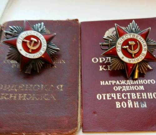 Need opinions! Order of the patriotic war group