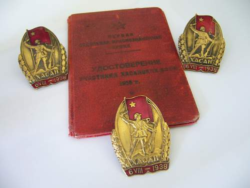 My only Soviet Badge..