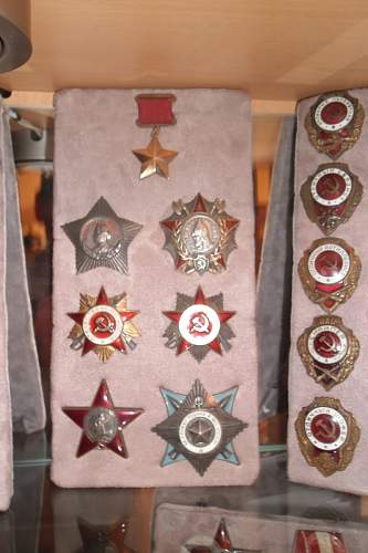 My small soviet WW2 collection of medals and orders