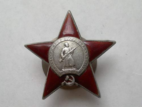 Original order of the red star?