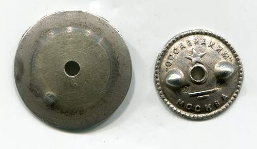 Click image for larger version.  Name:10 Years October Revolution obverse nut & washer.jpg Views:46 Size:249.1 KB ID:947469