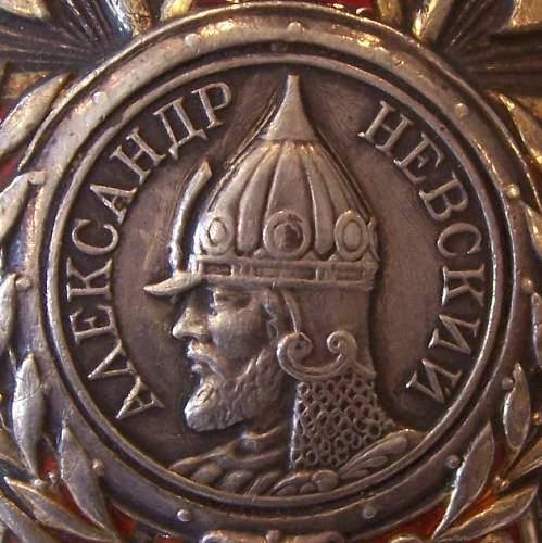 show and tell: My Order of Alexander Nevsky