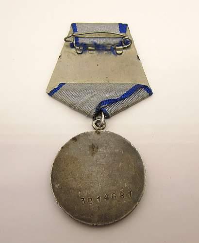 Soviet Medal for Valor - 3,014,681