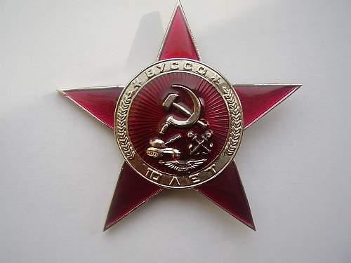 soviet award ? for who ?