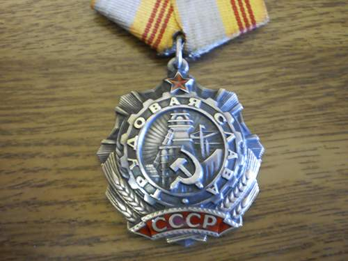 Order of labour glory 3rd class #528929