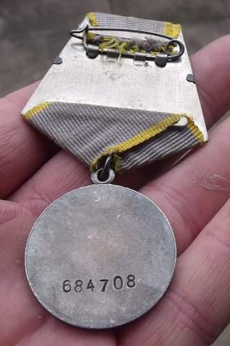 Combat service medal #684708